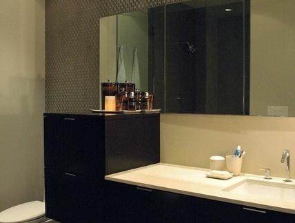 12万打造温馨浪漫欧式风格小户型卫生间装修效果图大全2012图片