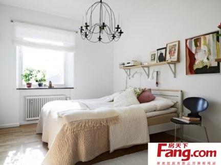 简单清新的简约风格装修卧室图片
