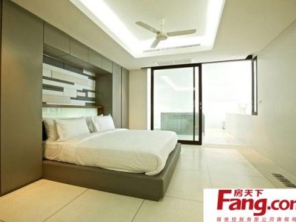 简单极致的卧室装修效果图大全2014图片