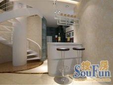 现代简约-70平米二居室装修图片