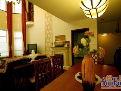 中式古典-400平米别墅装修样板间