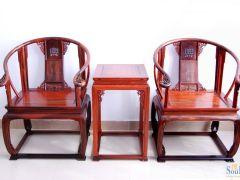 东方经典红木极品系列AQY001-SD大红酸枝皇宫椅