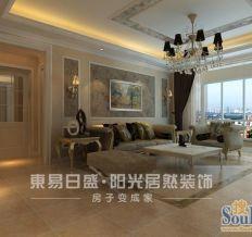 万达广场-三居室-140平米-装修设计