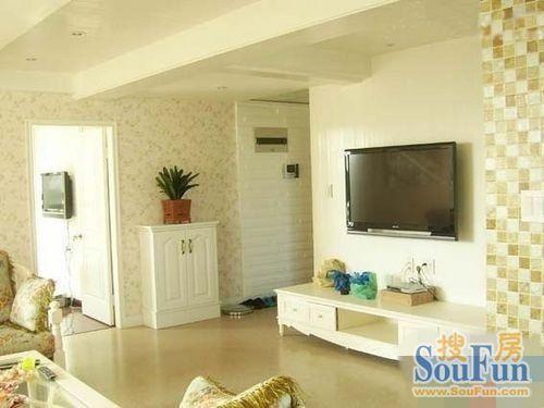 日韩风格-92平米二居室-装修样板间