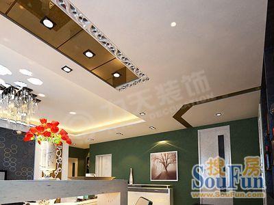 一居室-62平米-客厅装修效果图  -一居室 62平米 装修设计高清图片