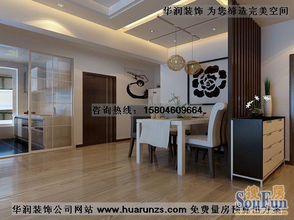 二居室-62平米-餐厅装修效果图  -二居室 62平米 装修设计高清图片
