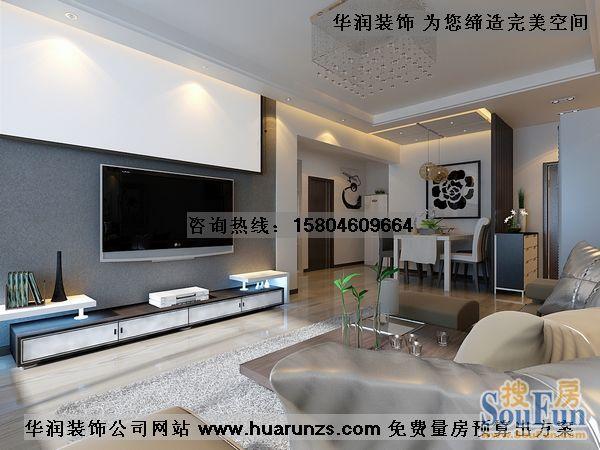 二居室-62平米-客厅装修效果图  -二居室 62平米 装修设计高清图片