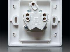 西蒙55系列N51681 16A两极带接地插座
