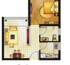 乾宏领秀空间-现代简约-一居室