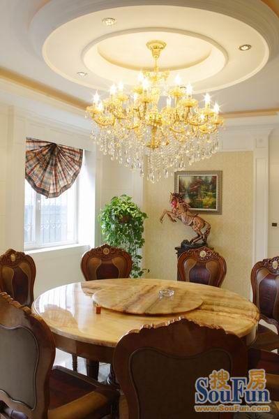 晋州别墅 别墅,晋州别墅欧美风情600平米别墅装修设计图片 搜房装修