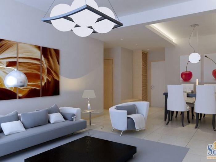现代简约-90平米二居室-装修设计
