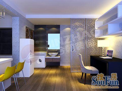 城市家园-现代简约-一居室