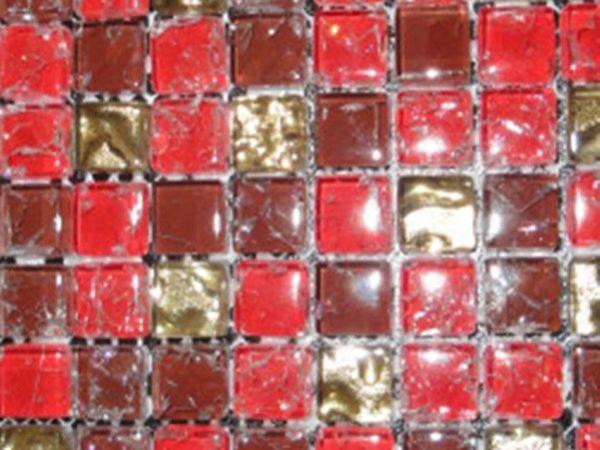 乐家居马赛克系列6204水晶玻璃
