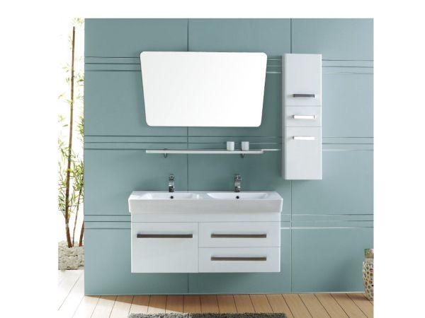 双人面盆浴室柜