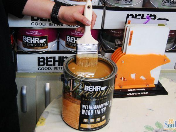 纳米级耐候木器防护水性漆