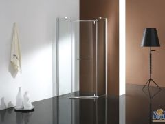 华尔门钻石形平开门淋浴房VM331