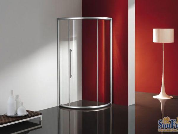 华尔门圆弧平开门淋浴房VM0122-8
