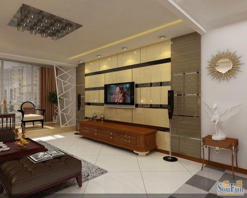 银河明珠-中式古典-二居室