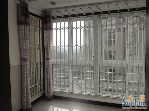其它彩钢内置折叠防盗窗金属窗
