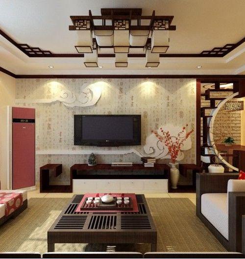 金都庄园-中式古典-四居室图片