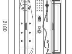 地中海M-006蒸汽淋浴房