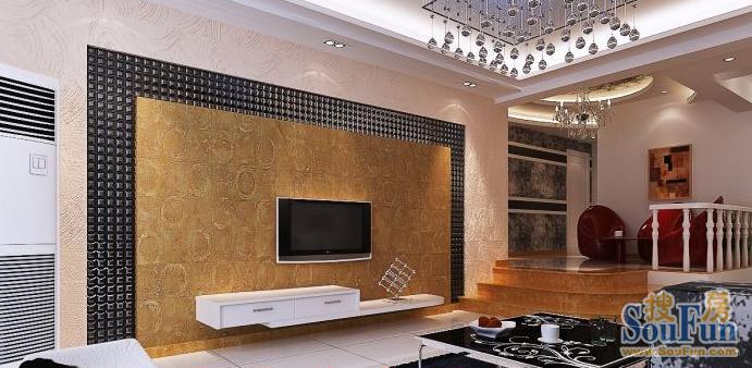 现代简约-85平米二居室-装修设计