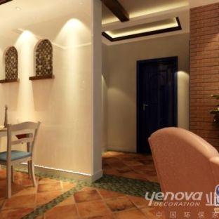 东南亚风格二居室装修效果图