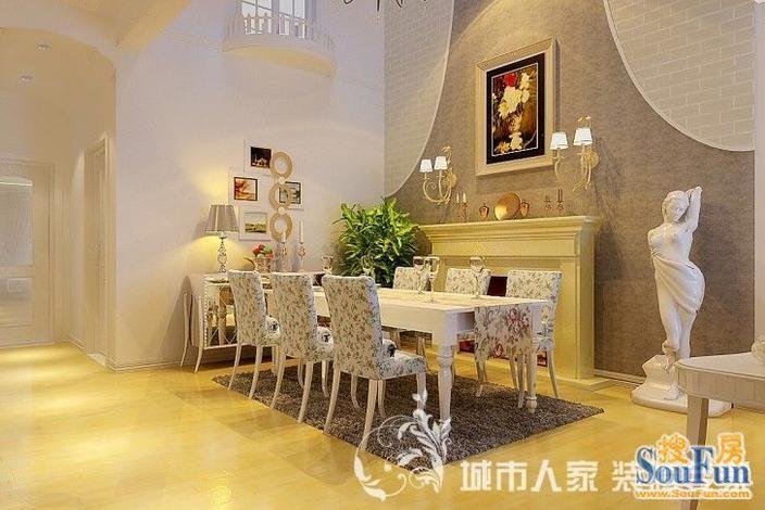 山水清音别墅 现代简约 240平米别墅装修图片