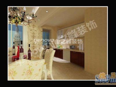 欧美风情-120平米二居室装修设计