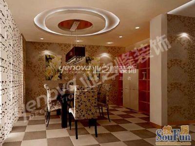 现代简约-180平米二居室装修设计