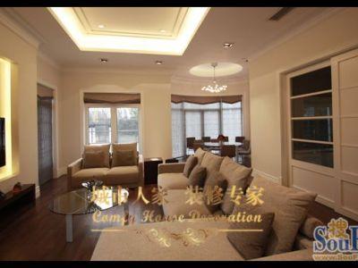 东南亚风格-226平米别墅装修样板间