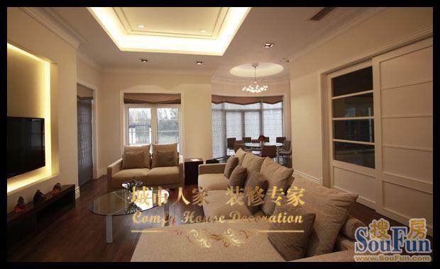 东南亚风格-226平米别墅-装修样板间