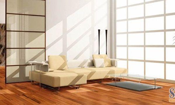 久盛多层实木香脂木豆0.6MM实木复合地板