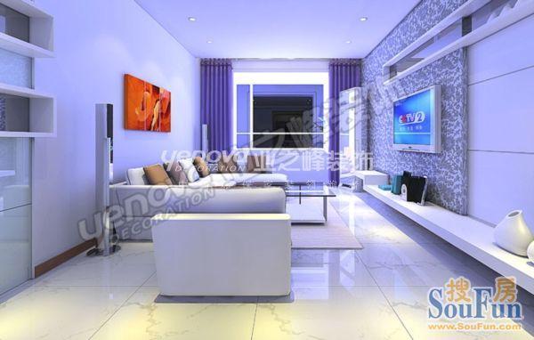 现代简约-70.18平米二居室-装修样板间