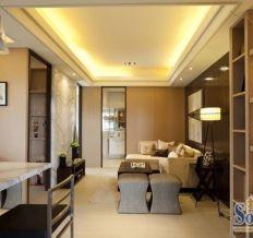 中体奥林匹克花园-混合型风格-二居室