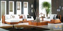 槟榔VO3沙发+茶几+电视柜沙发图片