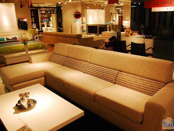 红苹果AP281-1-2L-3L沙发
