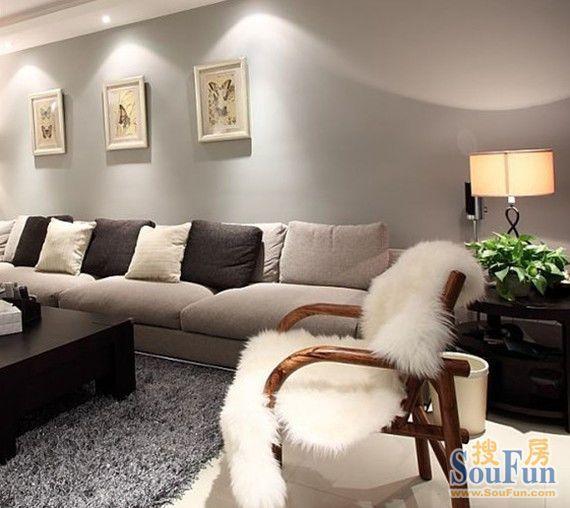 现代简约-98平米三居室-装修设计