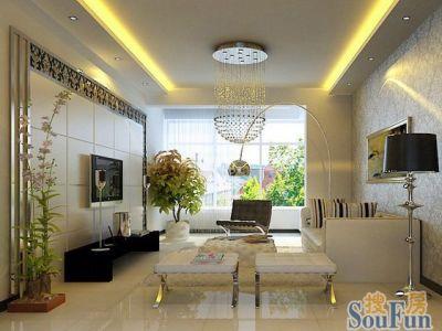 现代简约-77平米二居室装修设计