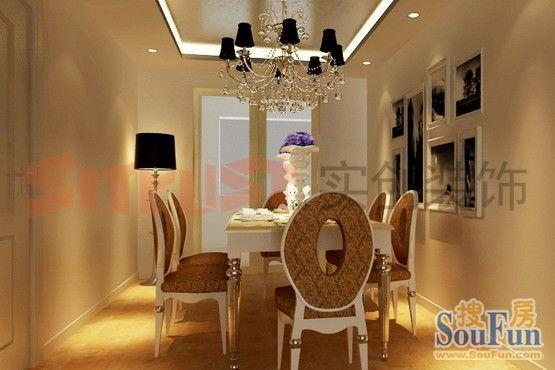 西式古典-140.2平米三居室-装修样板间