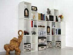 艾尚佳6小L加3T自由组合门厅柜、书柜、展柜