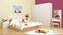 盛邦家具现代简约床头柜图片