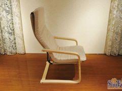 青岛一木弯曲木休闲椅0005