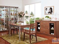 盛邦家具现代简约J-20厚板餐边柜