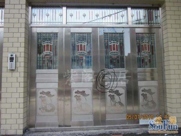 紫阁订做对开门,不锈钢门,防盗门,室外门大门