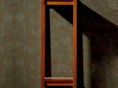 【喜得屋】 现代中式家具 海棠木 落地花架 SX8301