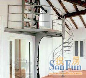 时尚不锈钢楼梯