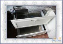 不锈钢整体橱柜图片