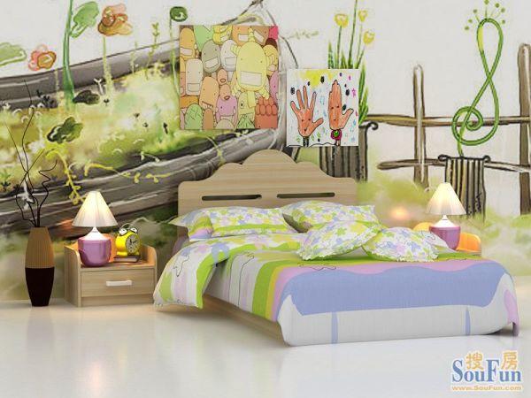 好莱客衣柜法国白松儿童床