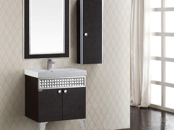 邦妮拓美 不锈钢浴室柜 创新・皮纹全不锈钢浴室柜 免运费